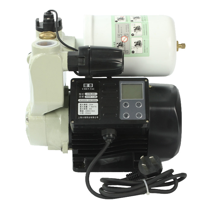 Intelligent automatic booster pump
